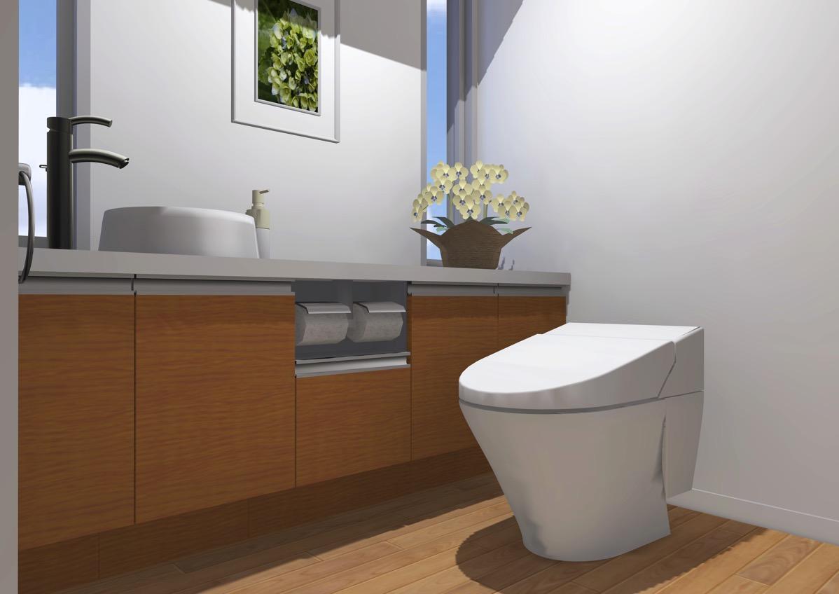 おすすめのクロス トイレの壁紙は自分でも張替えできる Renote