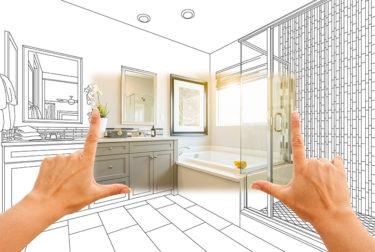 浴室の移動リフォームの施工事例