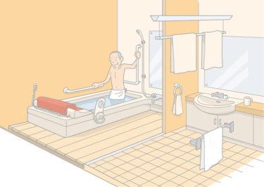 高齢者がいる住宅改修|補助金対象の浴室リフォームの種類