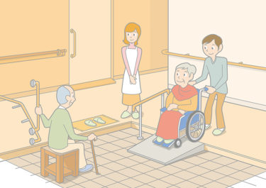 高齢者がいる家の玄関を介護リフォームする際のポイント